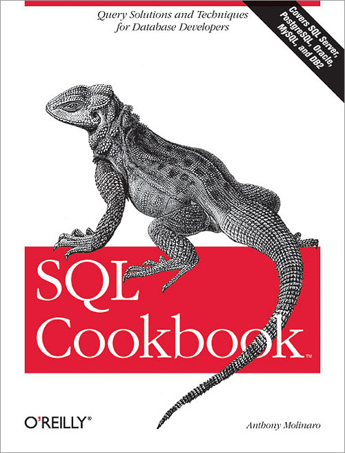 sql cook book cover
