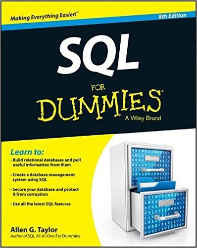 sql for dummies book cover